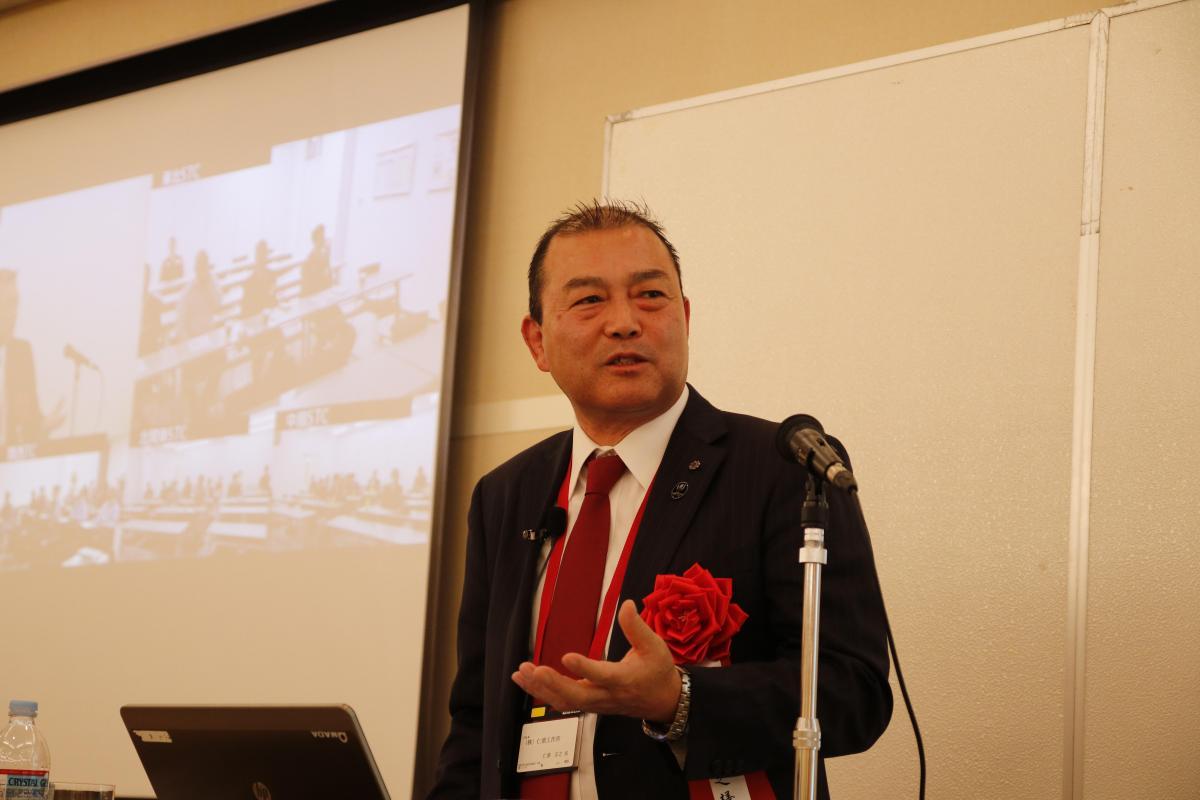 アマダ第5回経営者フォーラムで講演しました